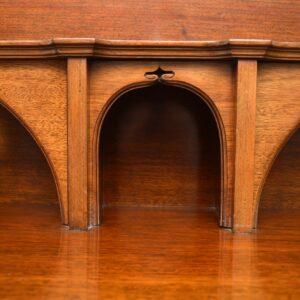 Antique Arts & Crafts Inlaid Mahogany Cabinet Liberty of London