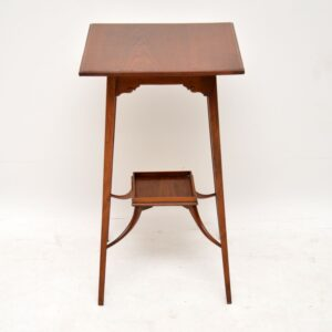 Antique Arts & Crafts Mahogany Side Table