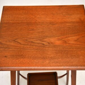 Antique Arts & Crafts Mahogany Side Table