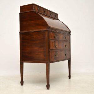 Antique Edwardian Mahogany Bureau