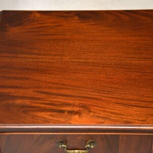 Antique Edwardian Mahogany Desk / Writing Table