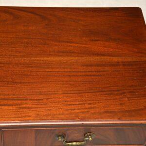 Antique Edwardian Mahogany Desk / Writing Table