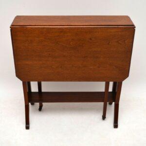 Antique Edwardian Mahogany Sutherland Table