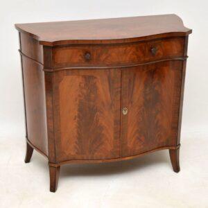 Antique Sheraton Design Mahogany Cabinet / Sideboard