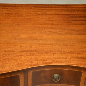 Antique Inlaid Mahogany Console Table