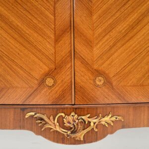 Antique French Inlaid Marquetry Cabinet