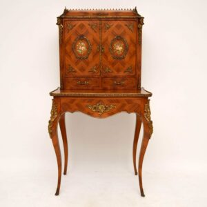 Antique French Kingwood Escritoire Writing Table