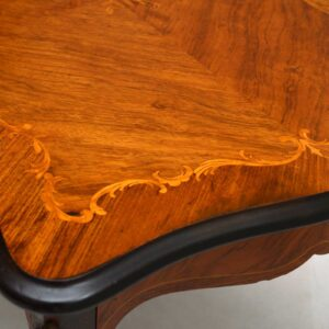 Antique French Style Inlaid Rosewood Coffee Table
