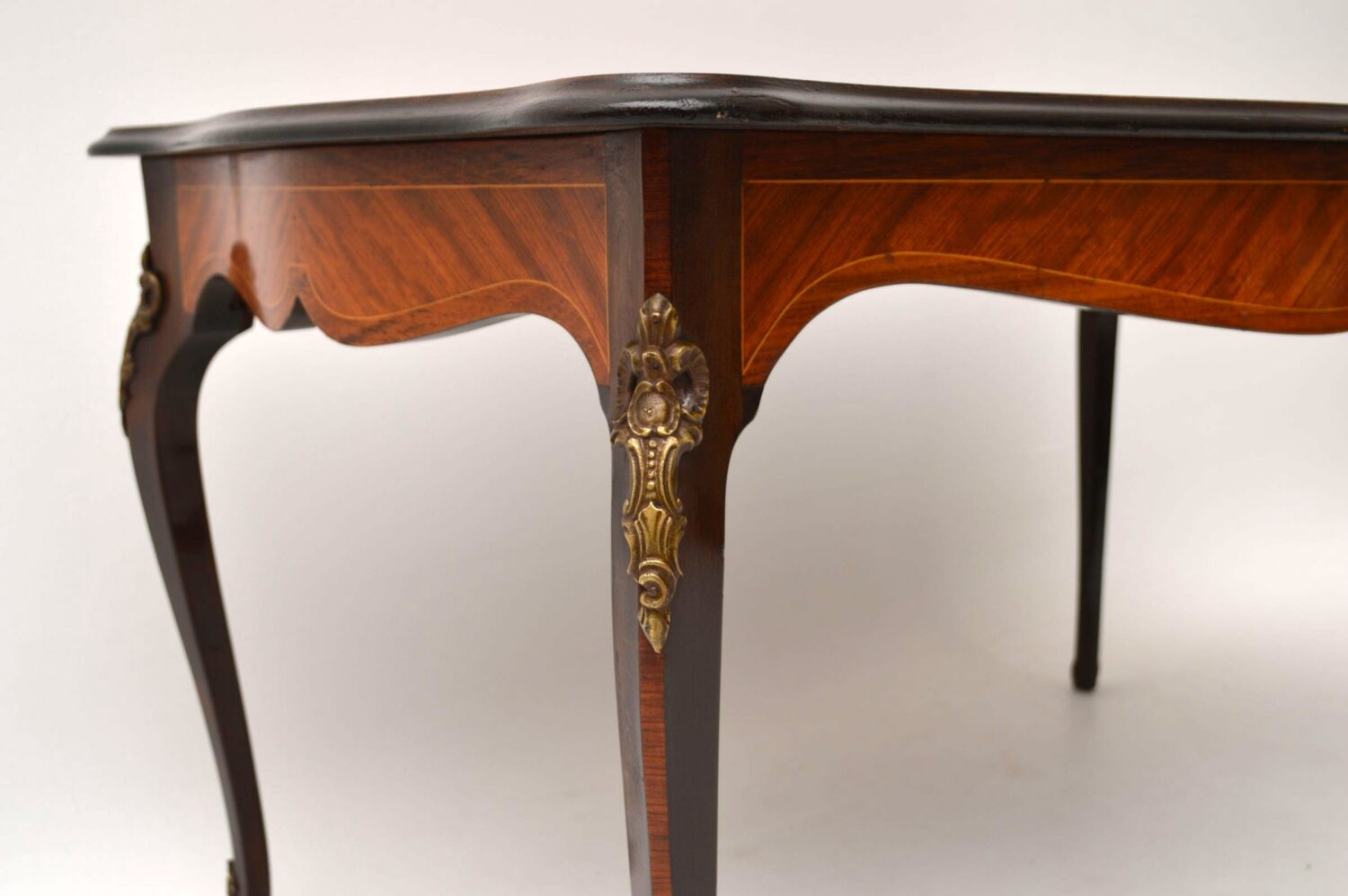 Antique French Style Inlaid Rosewood Coffee Table Marylebone Antiques