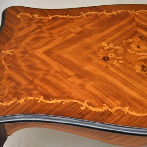 Antique French Kingwood Coffee Table