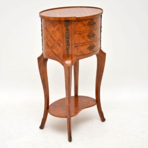 Antique French Kingwood Side Table