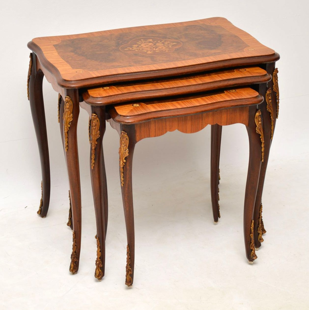 Antique French Nest of Tables