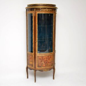 Antique French Ormolu Mounted Display Cabinet