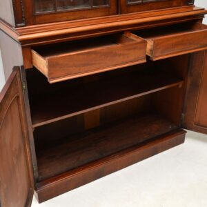 Antique George IV Mahogany Bookcase