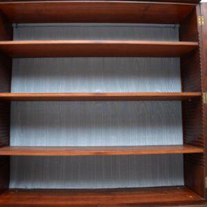 Antique Georgian III Mahogany Library Bookcase