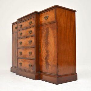 Antique Georgian Style Inlaid Mahogany Sideboard