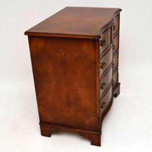Antique Georgian Style Burr Walnut Chest of Drawers