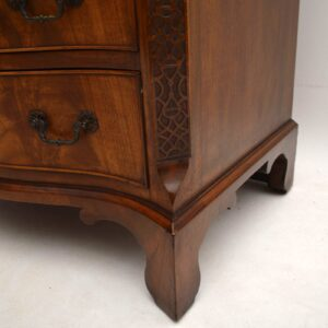 Antique Mahogany Serpentine Fronted Chest of Drawers