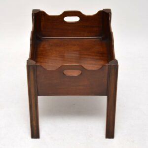 Antique Mahogany Tray Top Table