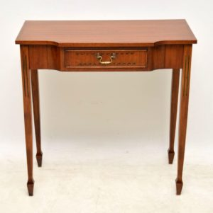 Antique Mahogany Console Table