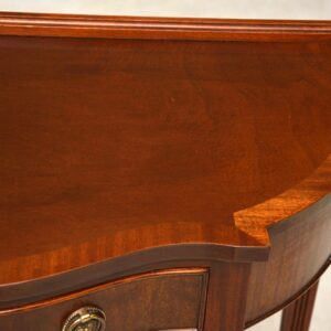 Antique Mahogany Georgian Style Console Table