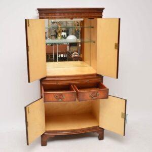 Antique Georgian Style Mahogany Drinks Cabinet