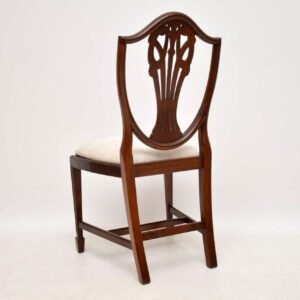 Set of 8 Antique Georgian Style Mahogany Dining Chairs