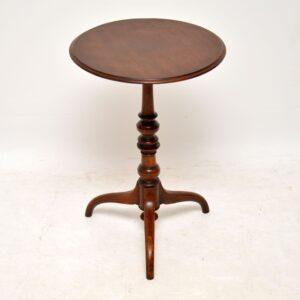 Antique Early Victorian Mahogany Wine Table