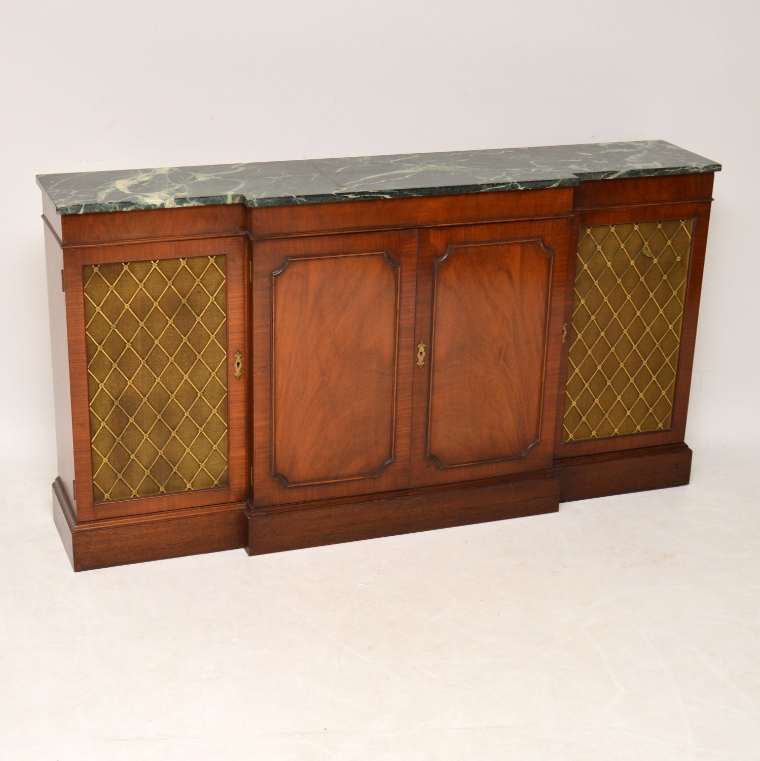 Antique Regency Style Mahogany Sideboard