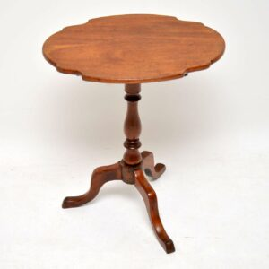 Antique Mahogany Tilt Top Table