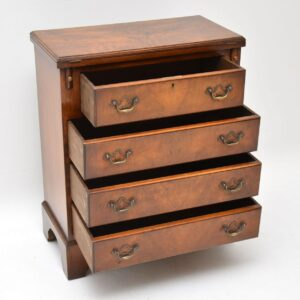 Antique Walnut Bachelors Chest of Drawers