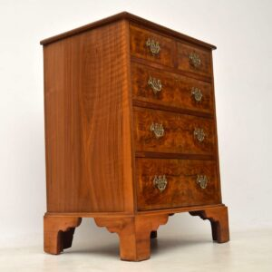 Antique 19th Century Burr Walnut Chest of Drawers