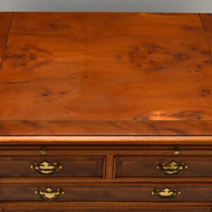 Antique Georgian Style Yew Wood Chest of Drawers