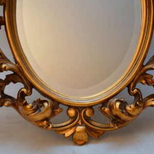 Antique Carved Gilt Wood Mirror