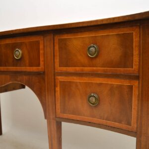 Antique Inlaid Mahogany Sideboard