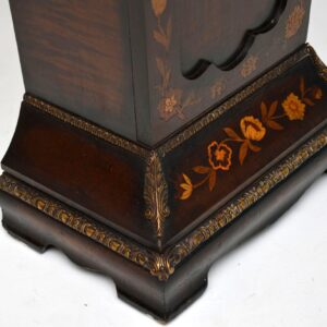 Antique French Stand With Floral Marquetry