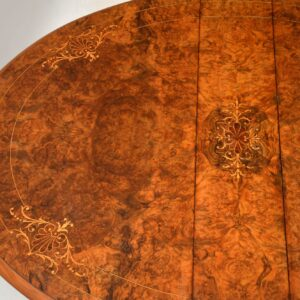 Antique Victorian Inlaid Walnut Sutherland Table
