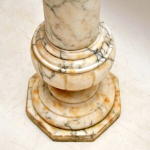 Antique Italian Alabaster Column