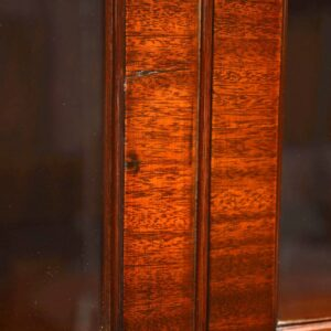 Antique Mahogany Glazed Bookcase