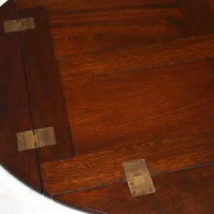 Antique Mahogany Butlers Tray Serving Table
