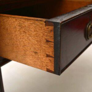 Antique Mahogany Cartlon House Desk