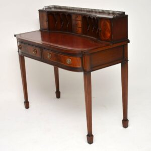 Antique Mahogany Sheraton Style Desk - Carlton House Design