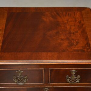 Slim Antique Mahogany Chest of Drawers