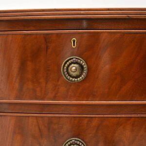 Antique Edwardian Mahogany Chest of Drawers