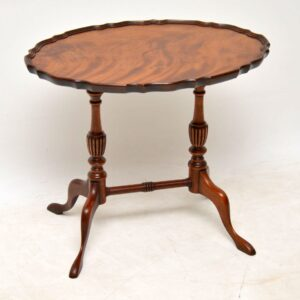 Antique Georgian Style Mahogany Coffee / Wine Table