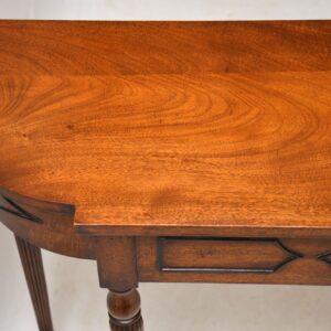 Antique Mahogany Console Table