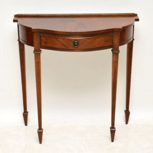 Antique Georgian Style Mahogany Console Table