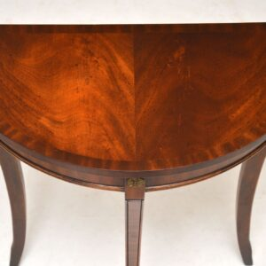 Antique Regency Style Mahogany Console Side Table