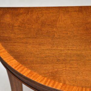 Antique Regency Style Mahogany Side Table