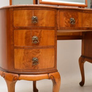 Antique Flame Mahogany Dressing Table